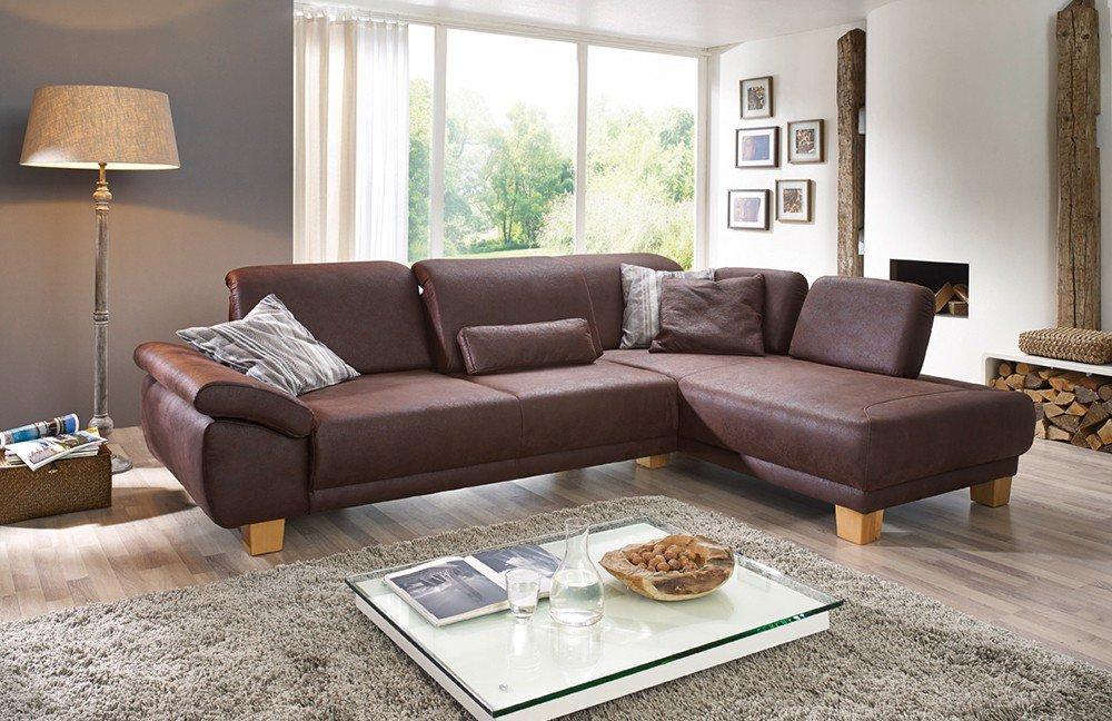 dietsch eckcouch time in braun m bel letz ihr online. Black Bedroom Furniture Sets. Home Design Ideas