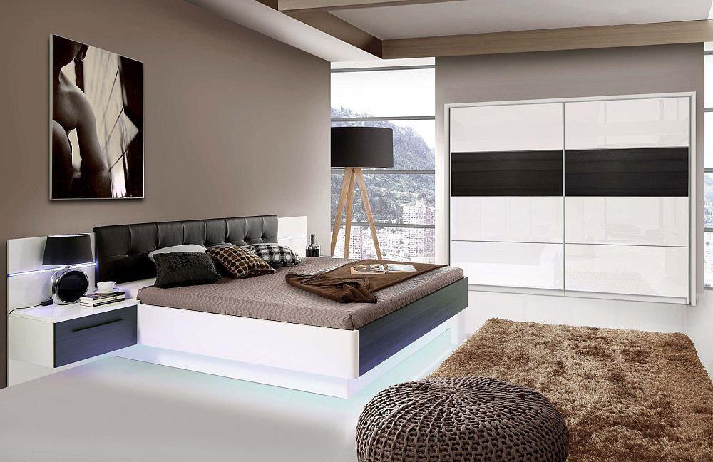 Schlafzimmer Recover von Forte Schwarzeiche - weiß | Möbel Letz ...
