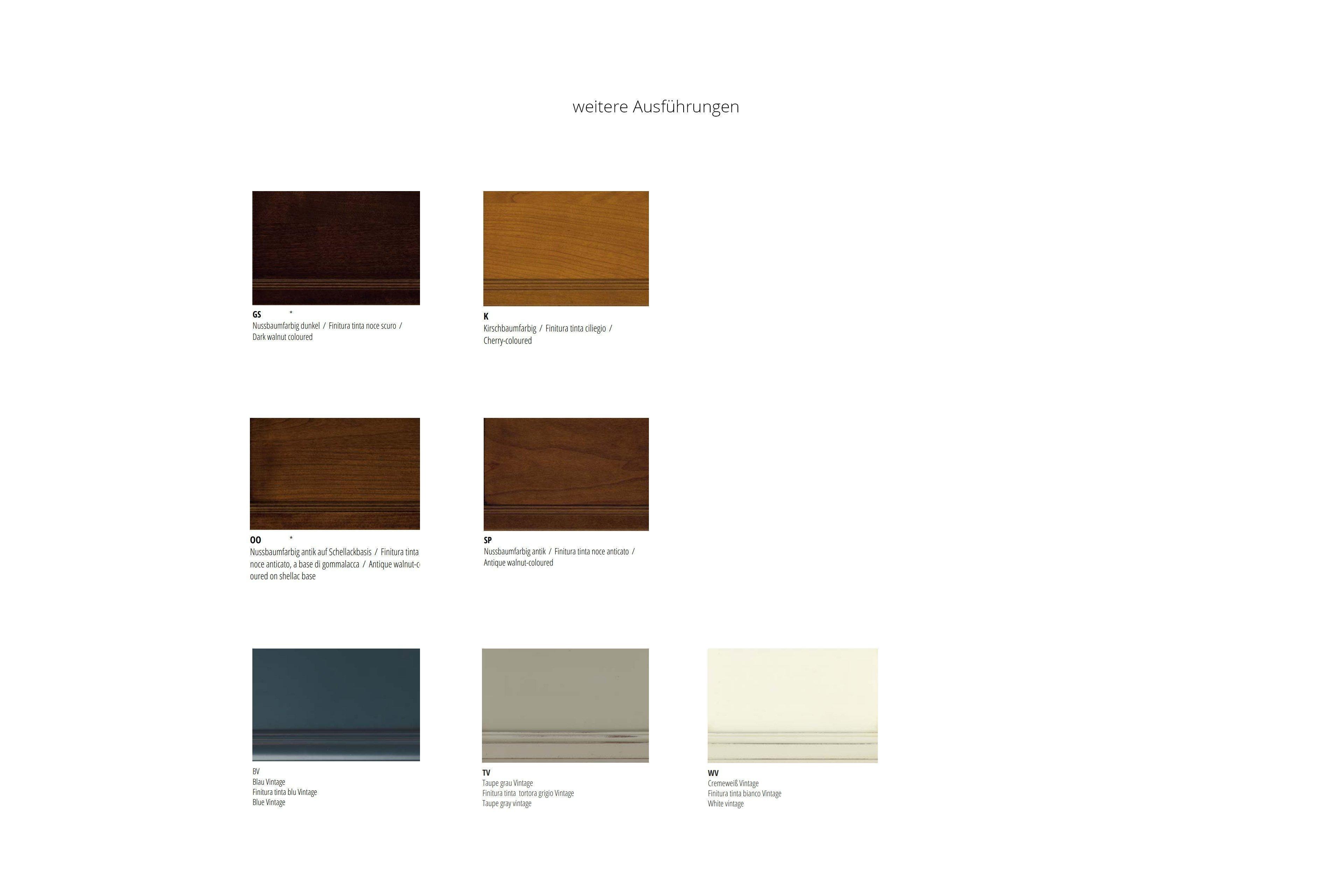 wohnwand sophia nussbaumfarbig auf schelllackbasis von selva m bel letz ihr online shop. Black Bedroom Furniture Sets. Home Design Ideas