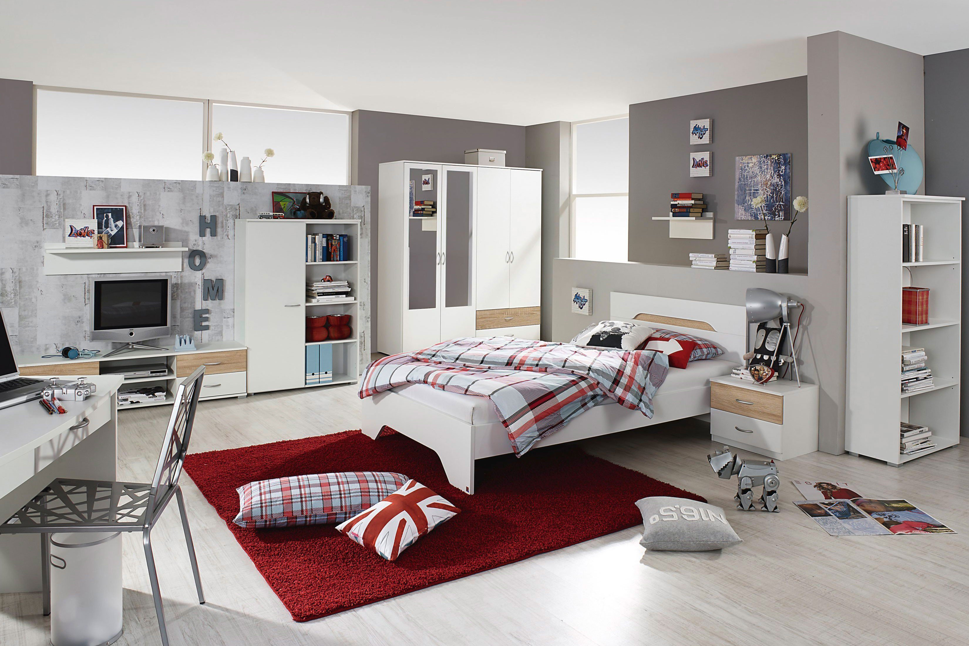 rauch noosa jugendzimmer wei nachbildung m bel letz ihr online shop. Black Bedroom Furniture Sets. Home Design Ideas