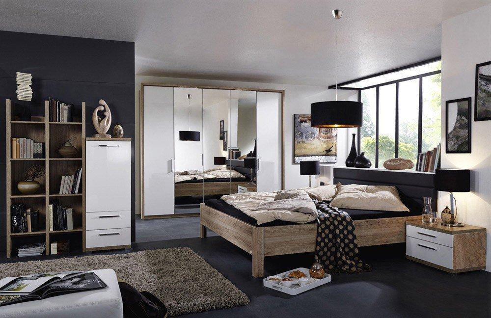 Nice4home Von Rauch Dialog   Schlafzimmer Eiche Nachbildung Weiß
