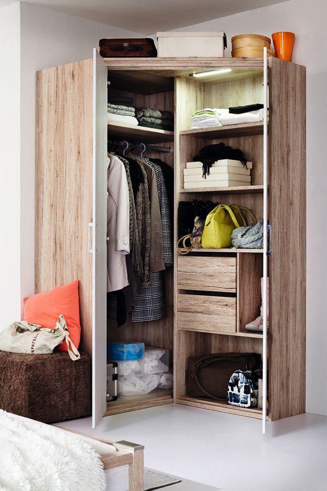 Jugendzimmer Luna von Priess Eiche   Möbel Letz - Ihr Online-Shop