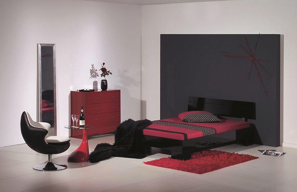 Bett genua Modular Kollektion Primolar schwarz | Möbel Letz - Ihr ...