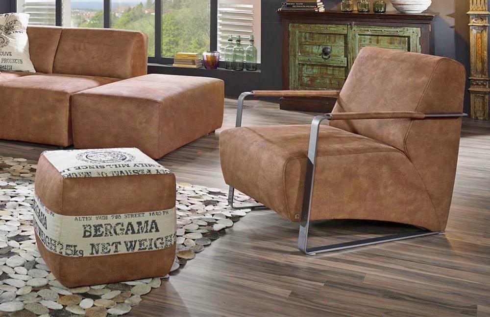 sessel pedro 537 braun ultsch m bel letz ihr online shop. Black Bedroom Furniture Sets. Home Design Ideas