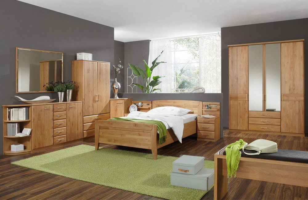 wiemann lausanne einzel schlafzimmer erle m bel letz. Black Bedroom Furniture Sets. Home Design Ideas