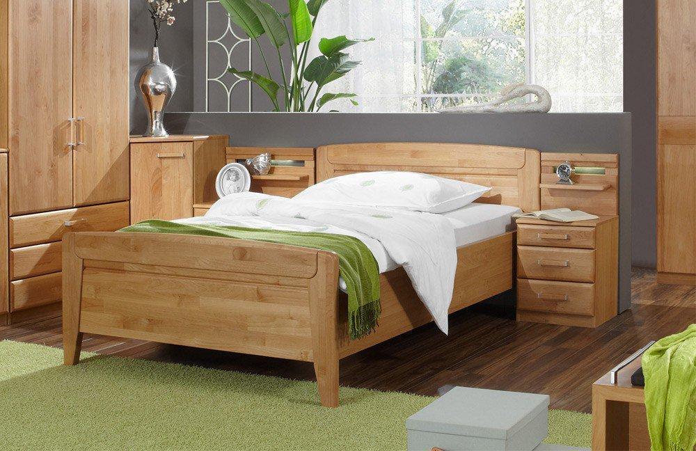 Wiemann Lausanne Einzel-Schlafzimmer Erle | Möbel Letz - Ihr Online-Shop