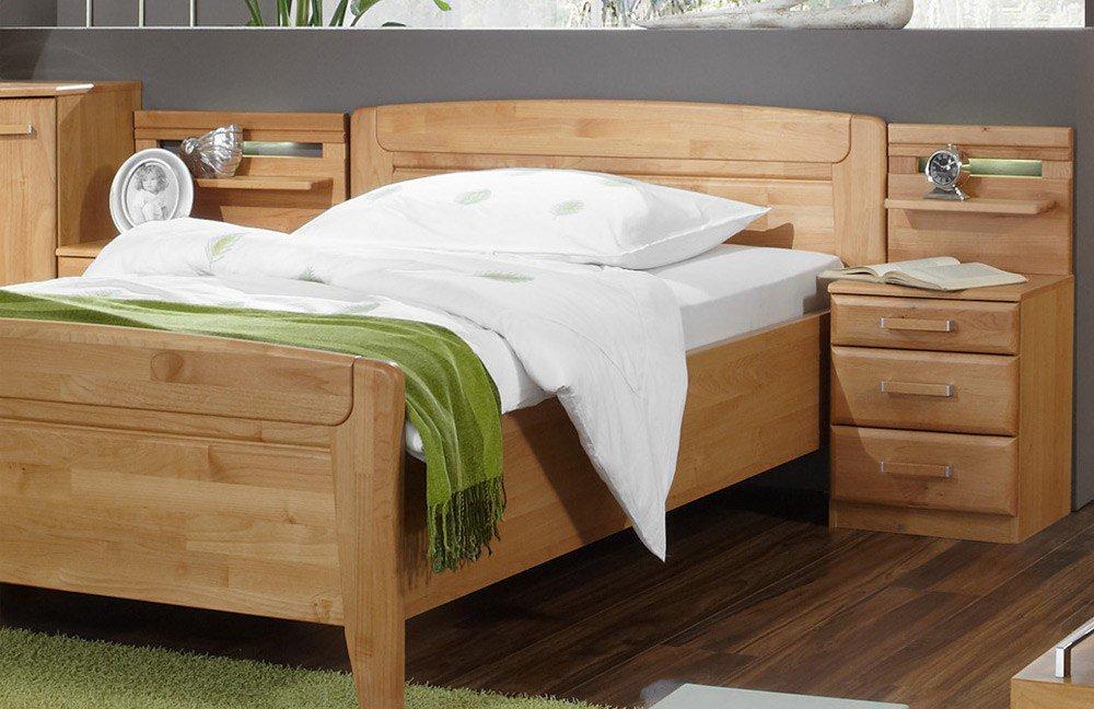 wiemann lausanne einzel schlafzimmer erle m bel letz ihr online shop. Black Bedroom Furniture Sets. Home Design Ideas