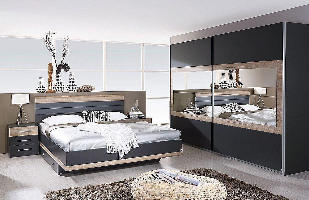 Tarragona von Rauch Pack\'s - Schlafzimmer weiß/ Eiche Sanremo