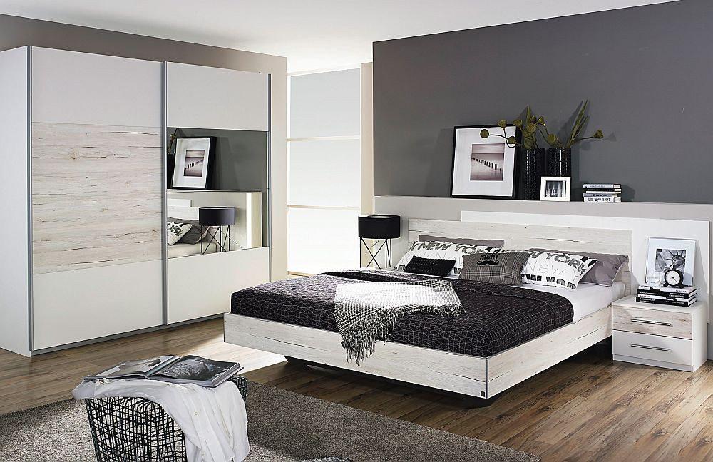 schlafzimmer saragossa rauch pack s wei m bel letz ihr online shop. Black Bedroom Furniture Sets. Home Design Ideas