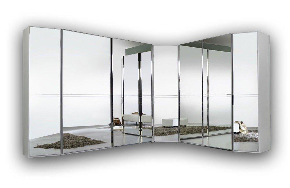 Rauch Alando Eck-Schrank Spiegel Weiß | Möbel Letz - Ihr Online-Shop