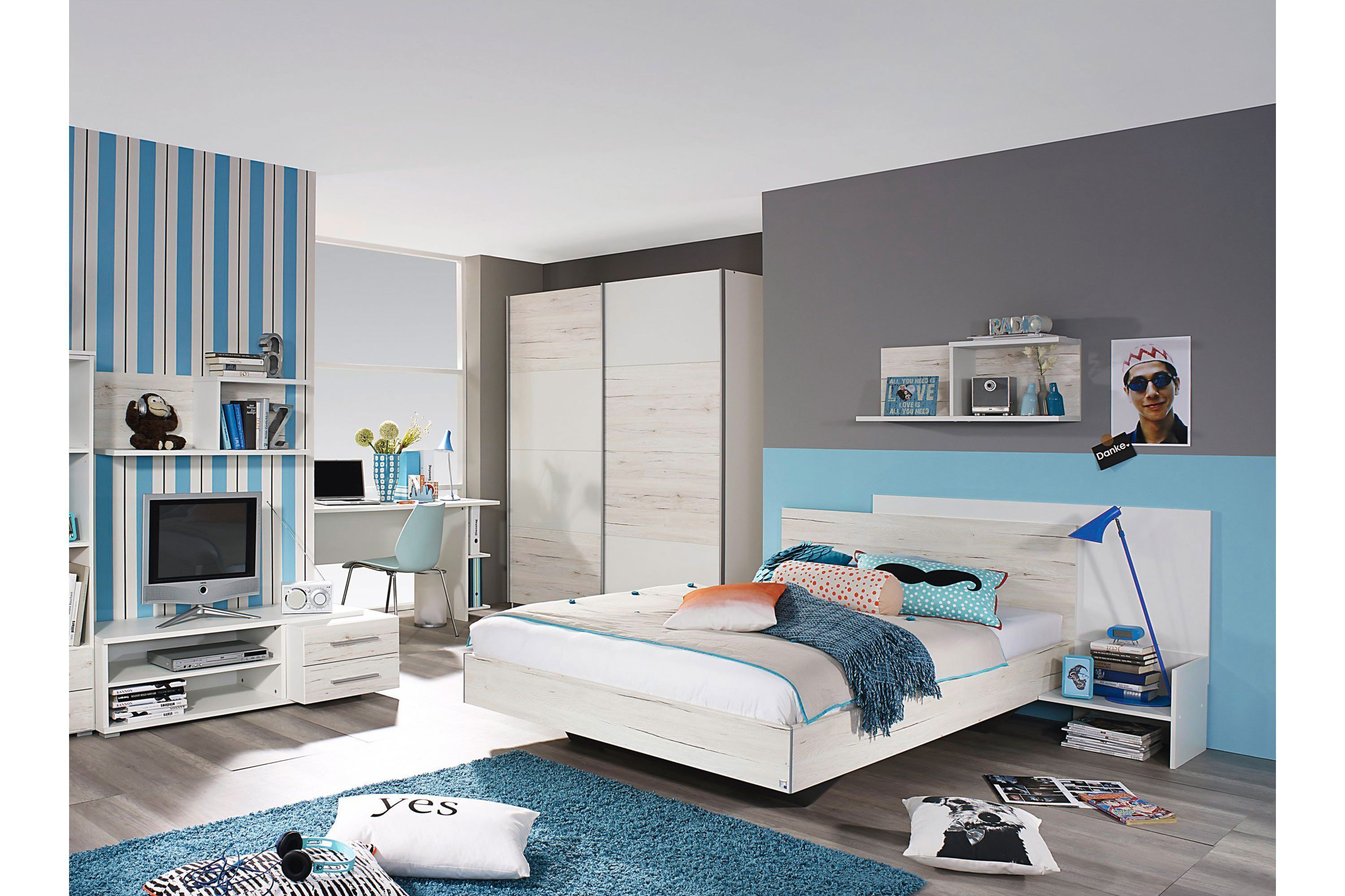rauch broome jugendzimmer wei eiche m bel letz ihr online shop. Black Bedroom Furniture Sets. Home Design Ideas