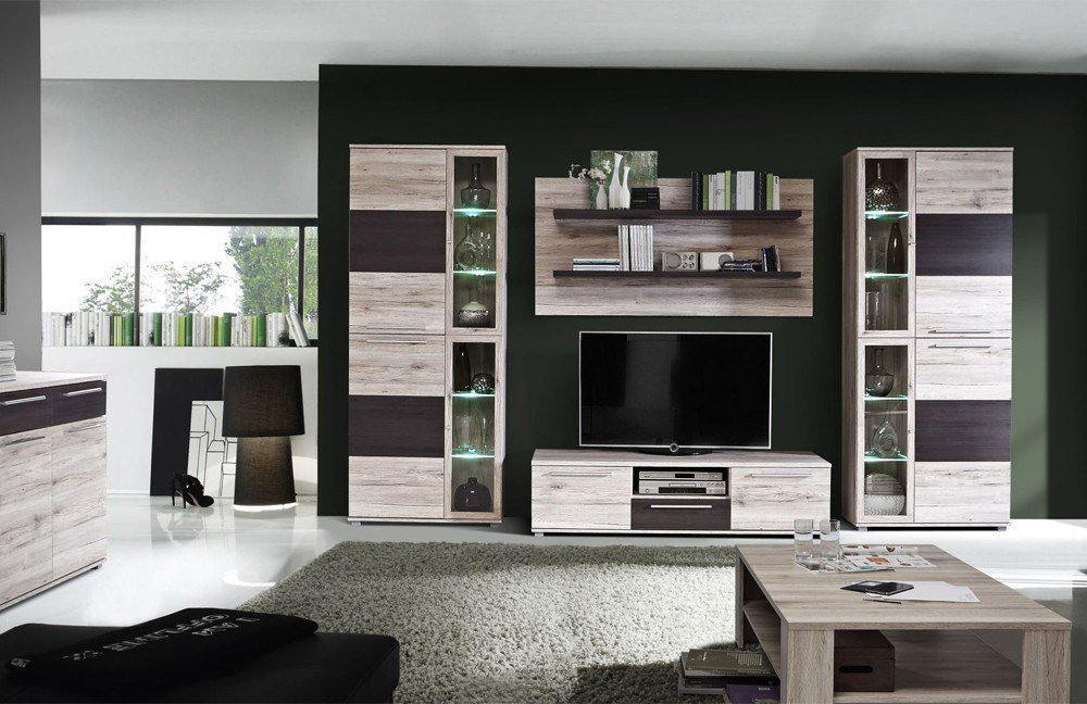 wohnwand gunstig poco alles ber wohndesign und m belideen. Black Bedroom Furniture Sets. Home Design Ideas