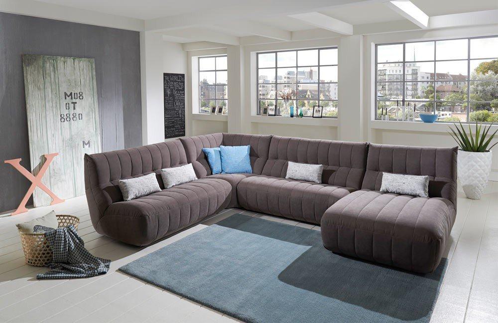 new look m bel mirella wohnlandschaft grau m bel letz ihr online shop. Black Bedroom Furniture Sets. Home Design Ideas