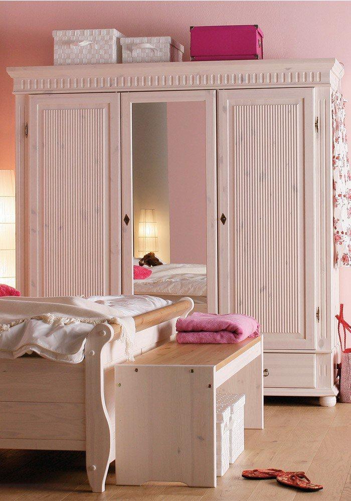 Massivholz-Schlafzimmer Helsinki Euro Diffusion | Möbel Letz - Ihr
