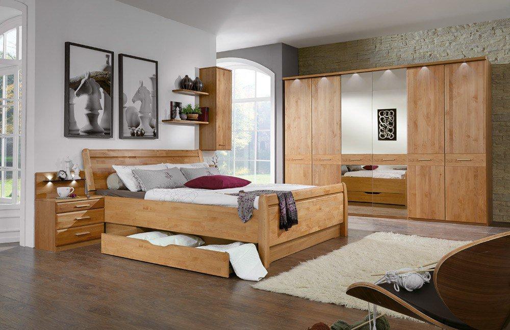 Toledo Von Wiemann   Schlafzimmer Erle Teilmassiv