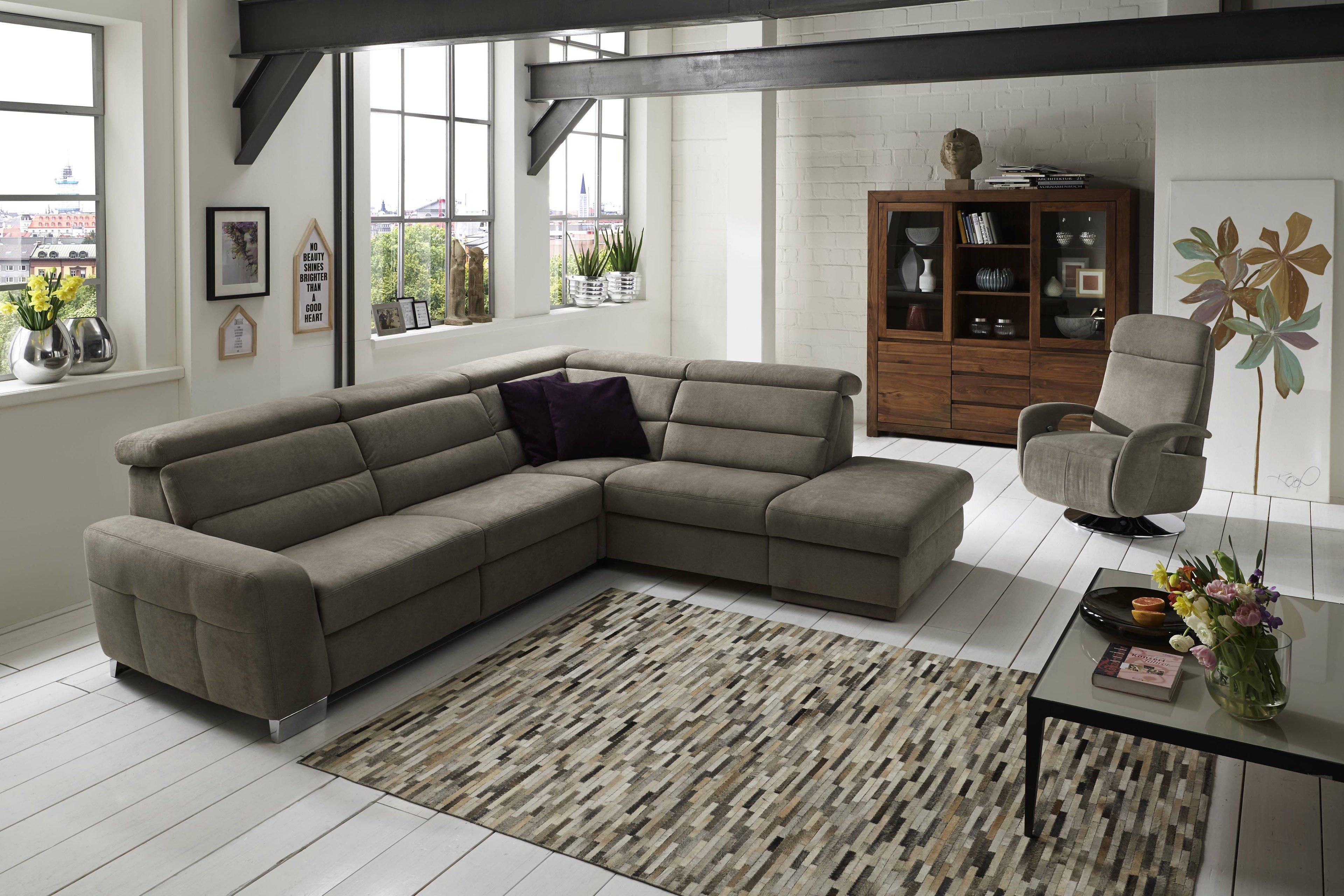zehdenick rumba ecksofa in grau m bel letz ihr online shop. Black Bedroom Furniture Sets. Home Design Ideas