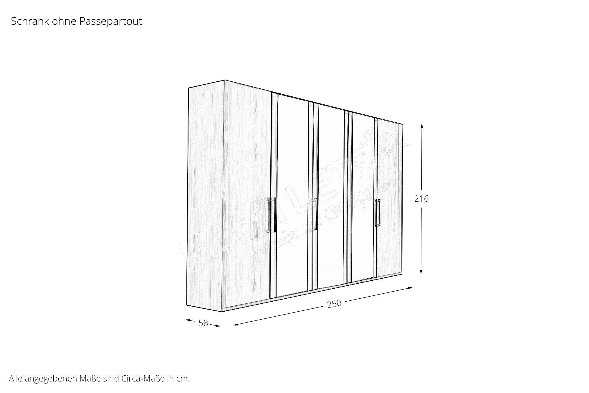 Lissabon Von Wiemann   Schlafzimmer Polar Lärche/ Havanna