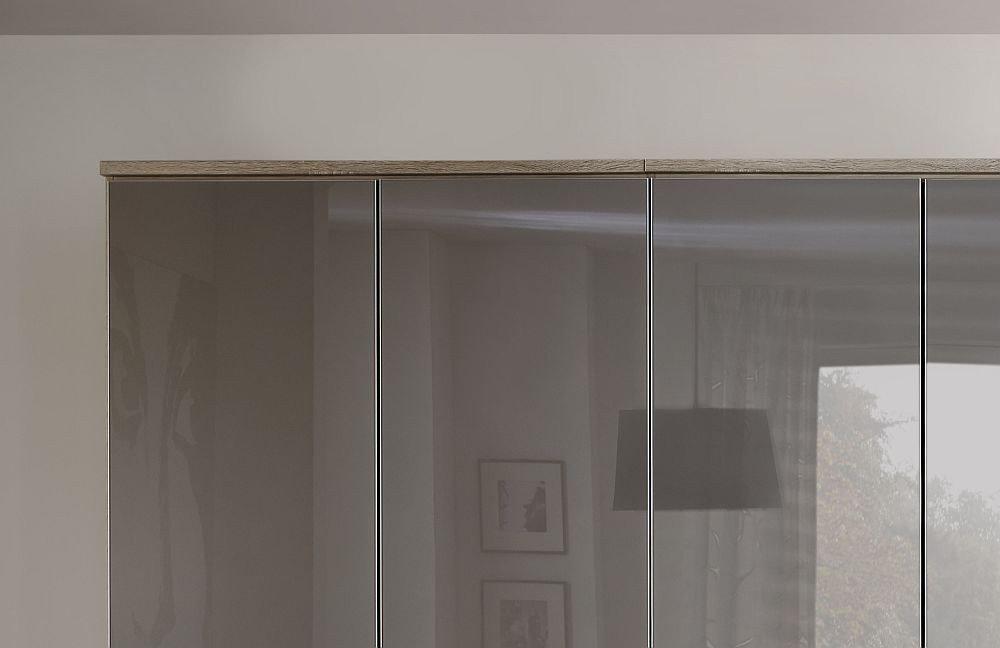 Nolte Horizont 10500 Kleiderschrank Glas samtbraun | Möbel Letz ...
