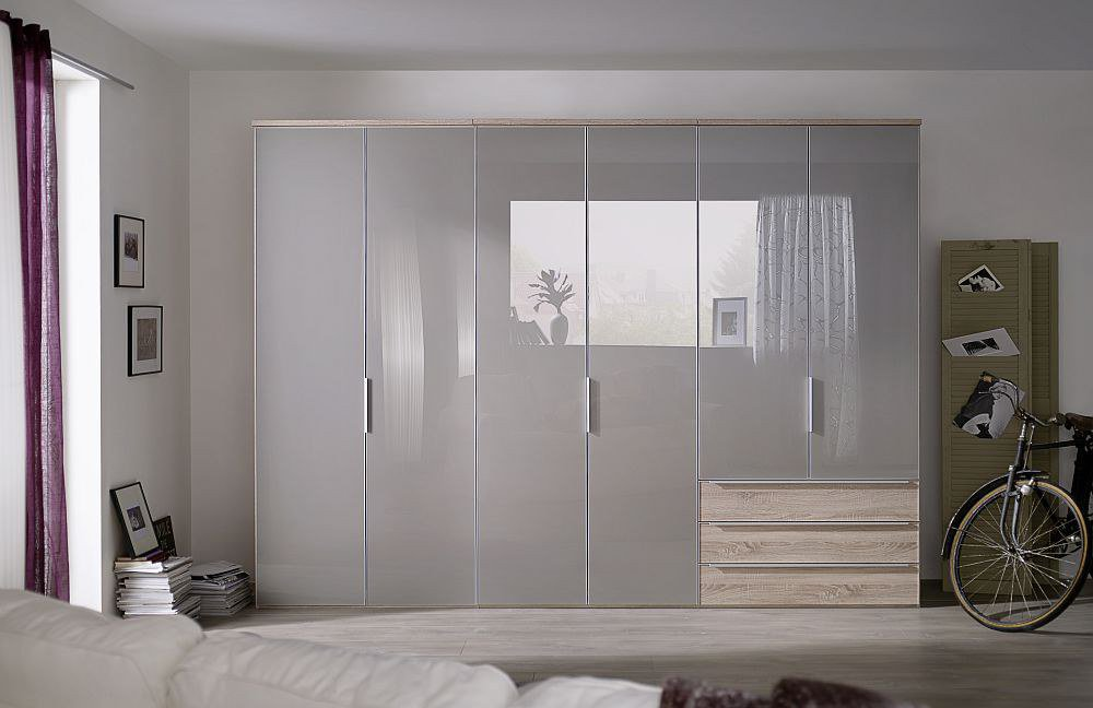 nolte horizont 10500 kombi schrank glas braun m bel letz ihr online shop. Black Bedroom Furniture Sets. Home Design Ideas