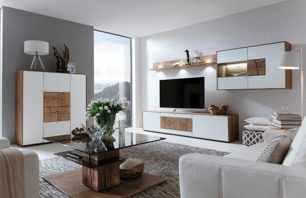 hartmann wohnwand caya 7170 22 w m bel letz ihr online. Black Bedroom Furniture Sets. Home Design Ideas