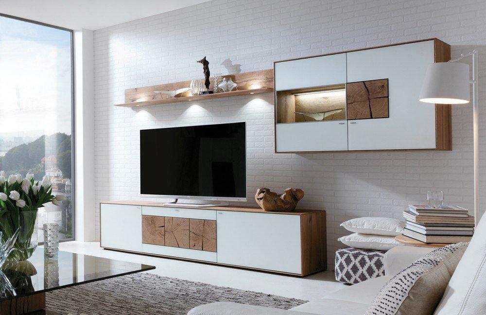 wohnwand caya 7170 22 w von hartmann m bel letz ihr. Black Bedroom Furniture Sets. Home Design Ideas