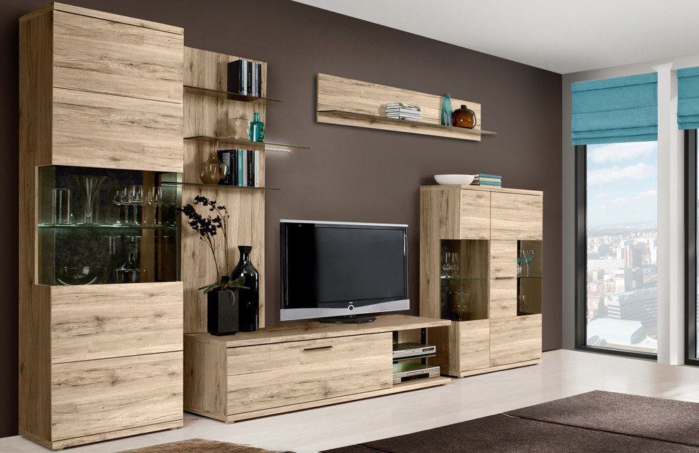 wohnwand ivory von forte m bel letz ihr online shop. Black Bedroom Furniture Sets. Home Design Ideas