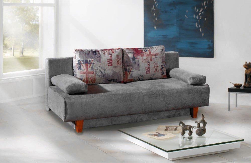 restyl larry schlafsofa querschl fer grau m bel letz ihr online shop. Black Bedroom Furniture Sets. Home Design Ideas