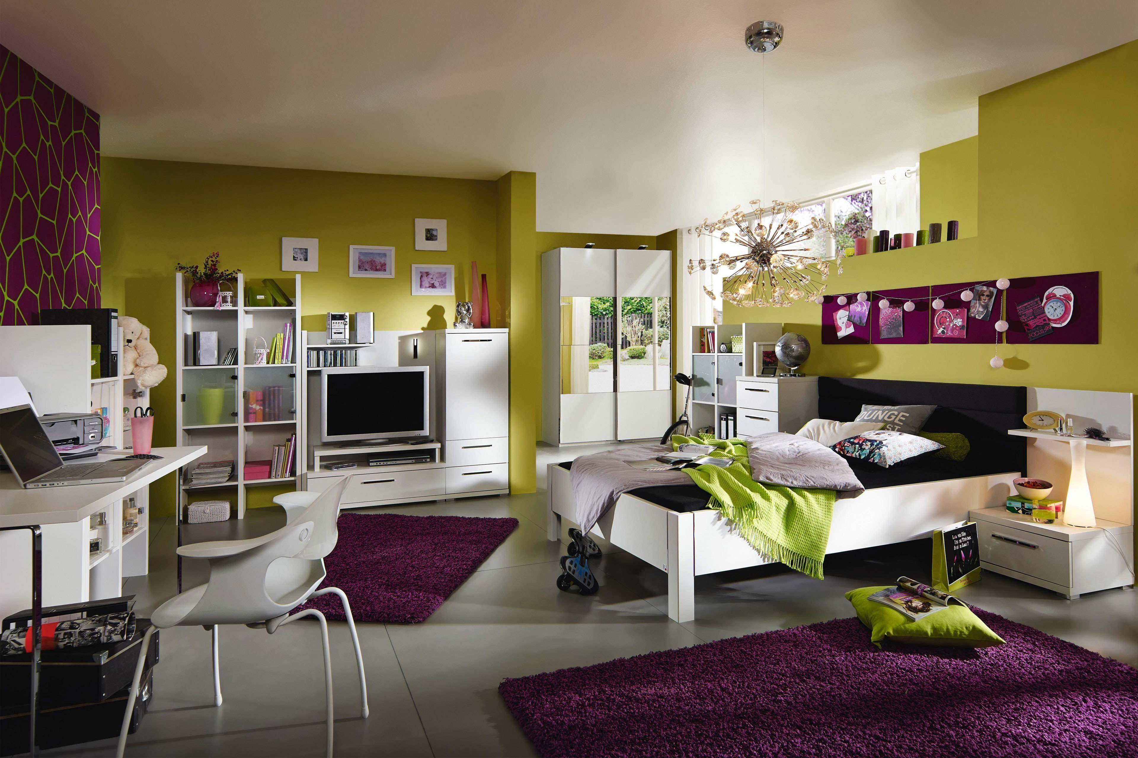 rauch nice4home jugendzimmer wei m bel letz ihr online shop. Black Bedroom Furniture Sets. Home Design Ideas