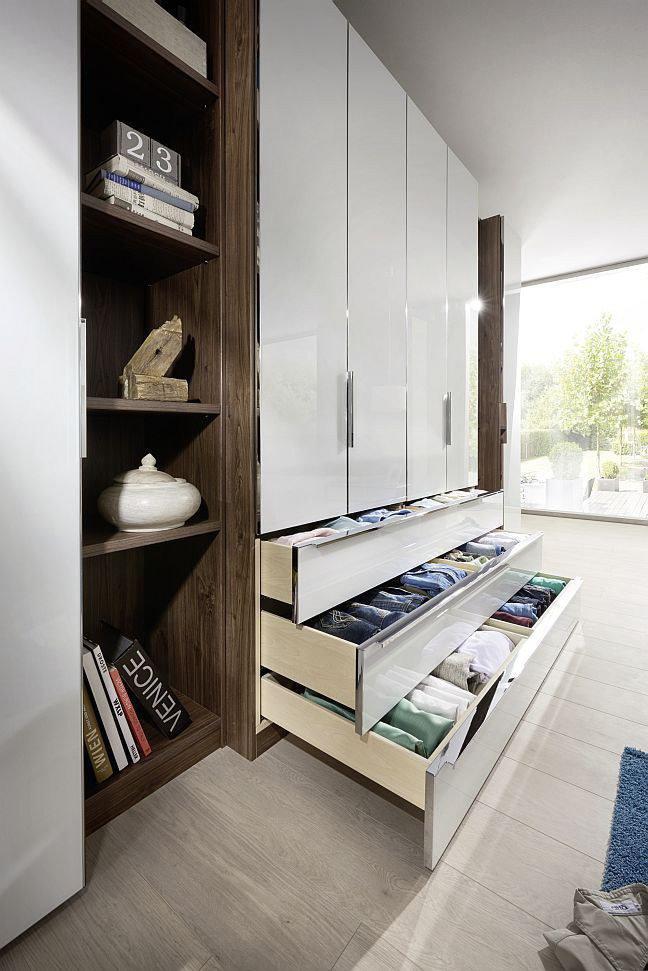 Nolte Horizont 10500 Schrank weiß/ Macadamia | Möbel Letz - Ihr ...