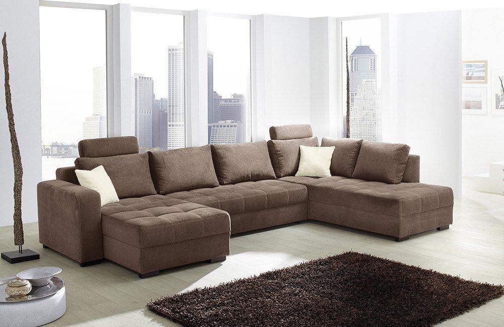wohnlandschaft braun weis, sofa antego in braun von jockenhöfer | möbel letz - ihr online-shop, Design ideen