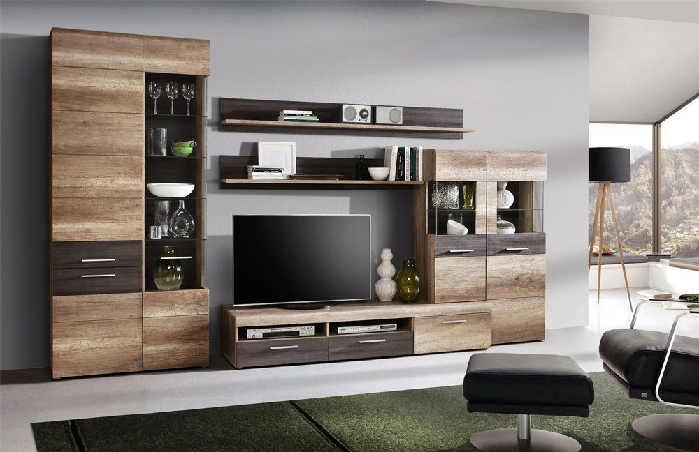 wohnwand nabou 01 von forte m bel letz ihr online shop. Black Bedroom Furniture Sets. Home Design Ideas