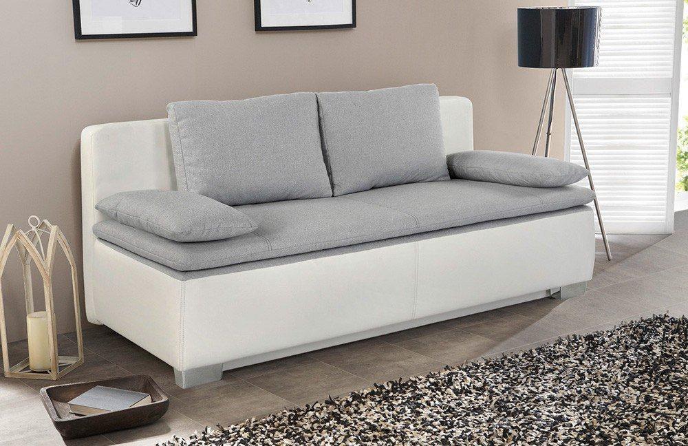 duett von jockenh fer funktionssofa wei grau m bel letz ihr online shop. Black Bedroom Furniture Sets. Home Design Ideas
