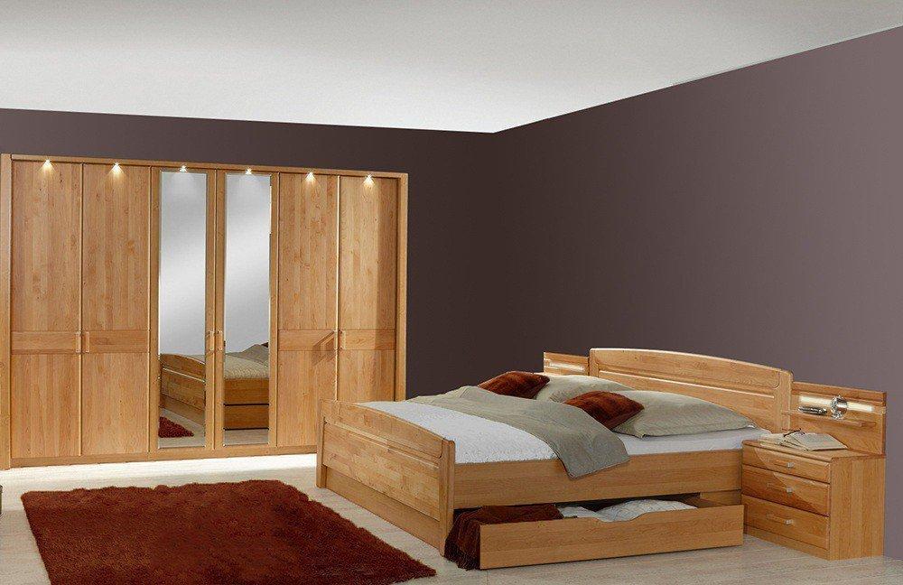 schlafzimmer mit front erle teilmassiv art nr av wiemann lausanne 135 ...