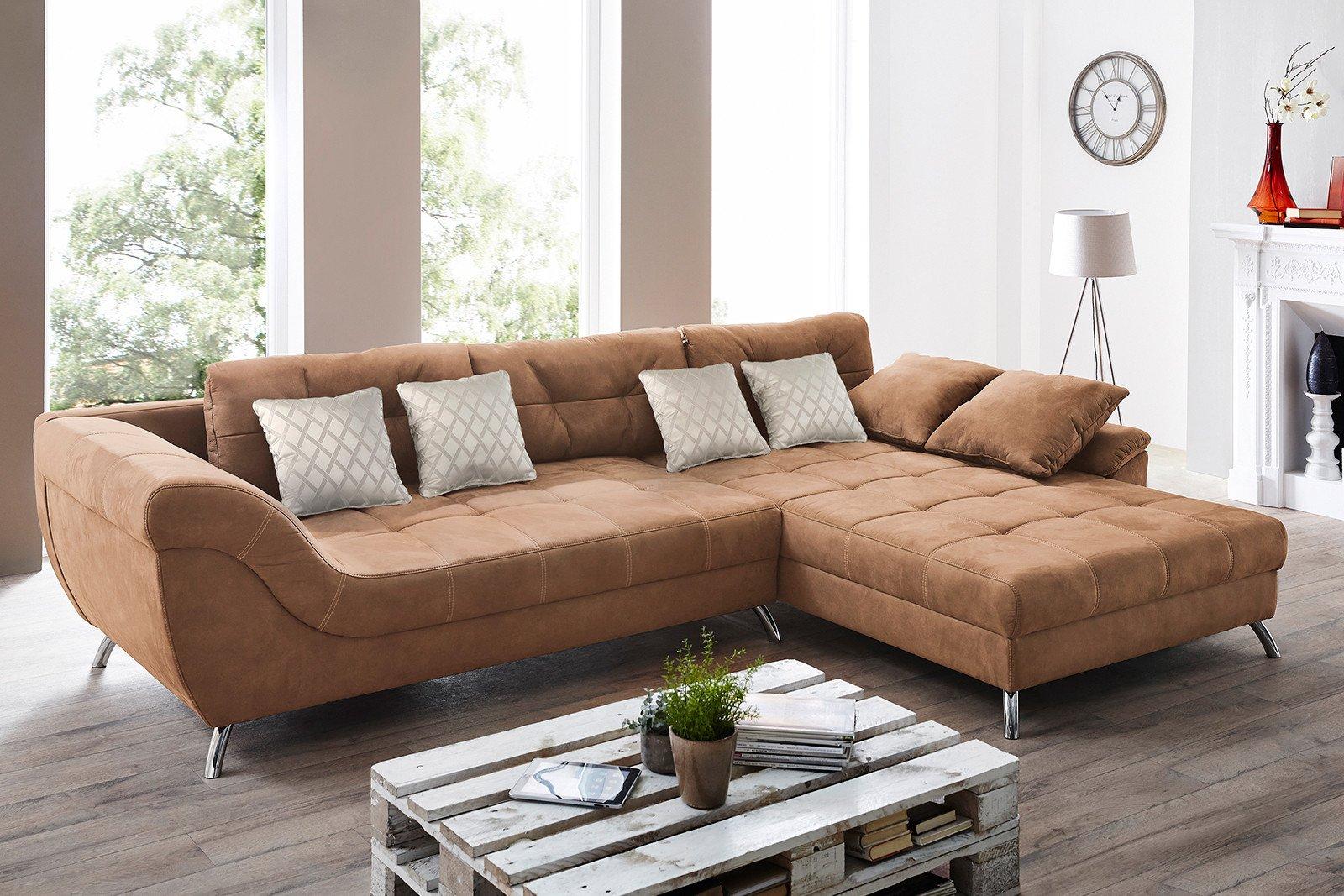 ecksofa san francisco rotbraun von jockenh fer m bel letz ihr online shop. Black Bedroom Furniture Sets. Home Design Ideas