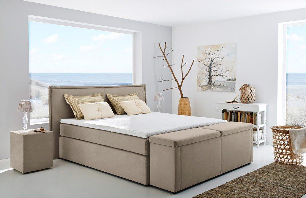jockenh fer ascoli boxspringbett beige m bel letz ihr online shop. Black Bedroom Furniture Sets. Home Design Ideas