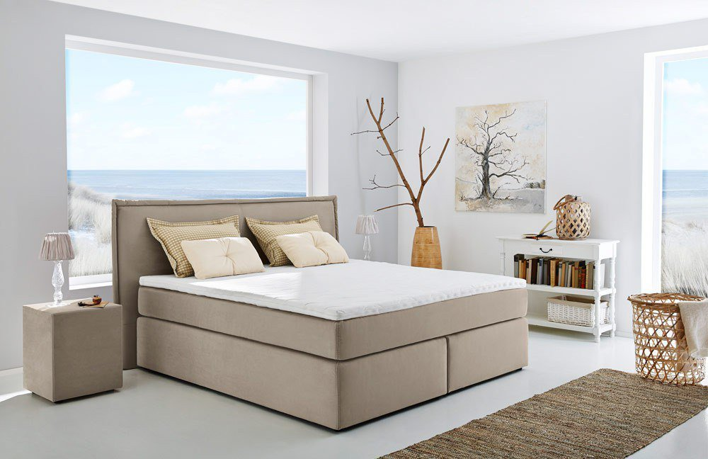 jockenh fer ascoli boxspringbett in beige m bel letz. Black Bedroom Furniture Sets. Home Design Ideas