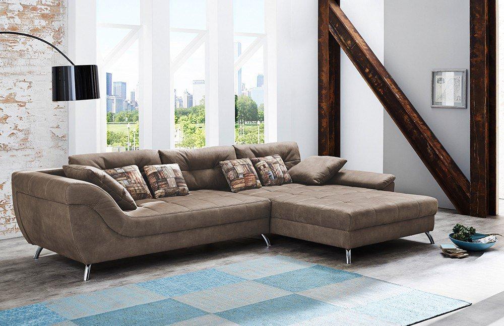 Jockenhöfer San Francisco Sofa dunkelbraun | Möbel Letz - Ihr ...