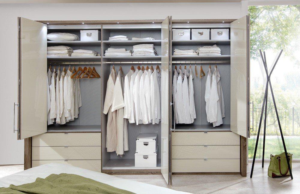 wiemann loft schrank glas magnolie m bel letz ihr online shop. Black Bedroom Furniture Sets. Home Design Ideas