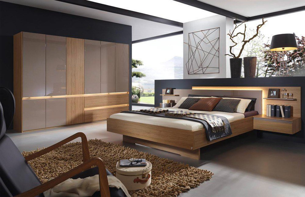 rauch atami schlafzimmer wildeiche nachbildung m bel. Black Bedroom Furniture Sets. Home Design Ideas