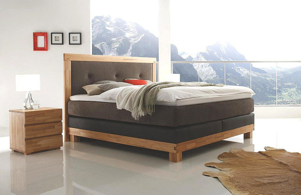 hasena massiva boxspringbett kernbuche natur m bel letz. Black Bedroom Furniture Sets. Home Design Ideas