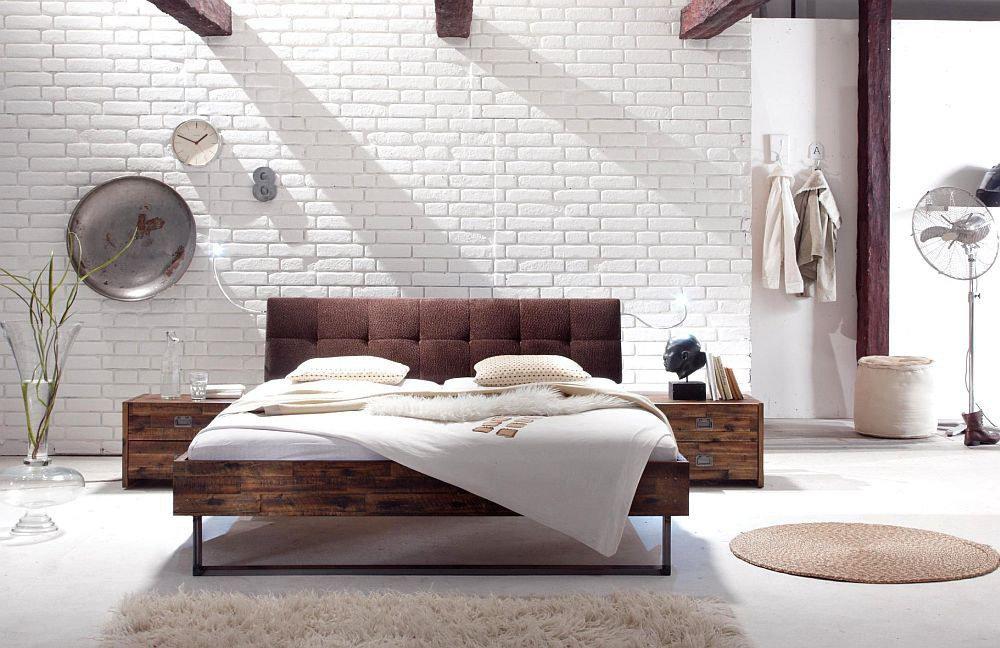 hasena factory line indus bett akazie brown m bel letz. Black Bedroom Furniture Sets. Home Design Ideas