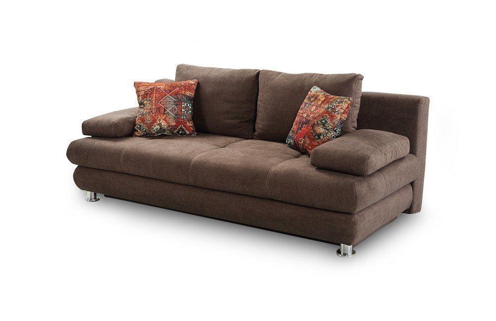 jockenh fer schlafsofa gent in braun m bel letz ihr online shop. Black Bedroom Furniture Sets. Home Design Ideas