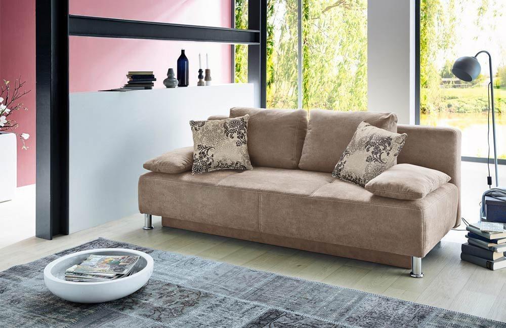 jockenh fer kairo schlafsofa hellbraun m bel letz ihr online shop. Black Bedroom Furniture Sets. Home Design Ideas