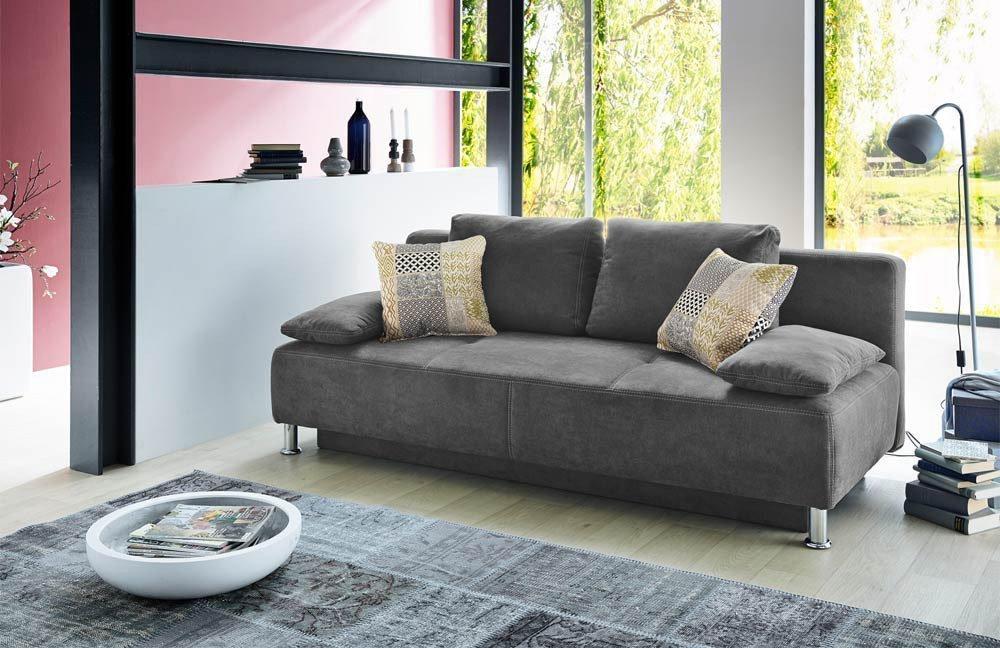 jockenh fer kairo schlafsofa grau m bel letz ihr online shop. Black Bedroom Furniture Sets. Home Design Ideas