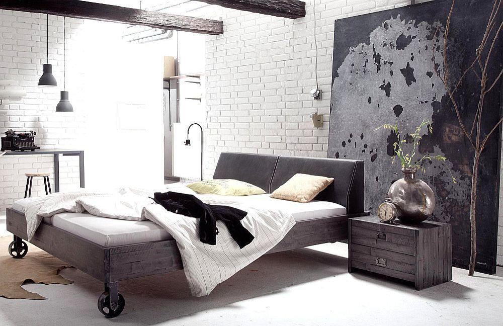 Hasena Factory-Line Road Bett Akazie grey | Möbel Letz - Ihr Online-Shop
