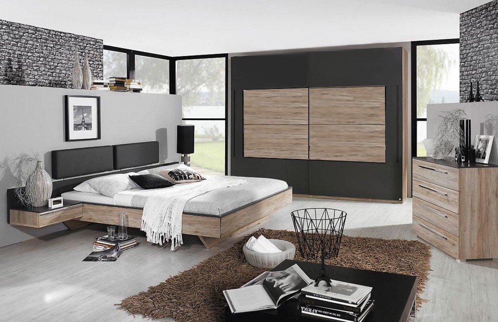 rauch colette m bel set eiche graphit m bel letz ihr online shop. Black Bedroom Furniture Sets. Home Design Ideas