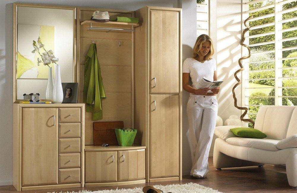 garderobe serie 600 birke leinkenjost m bel letz ihr online shop. Black Bedroom Furniture Sets. Home Design Ideas