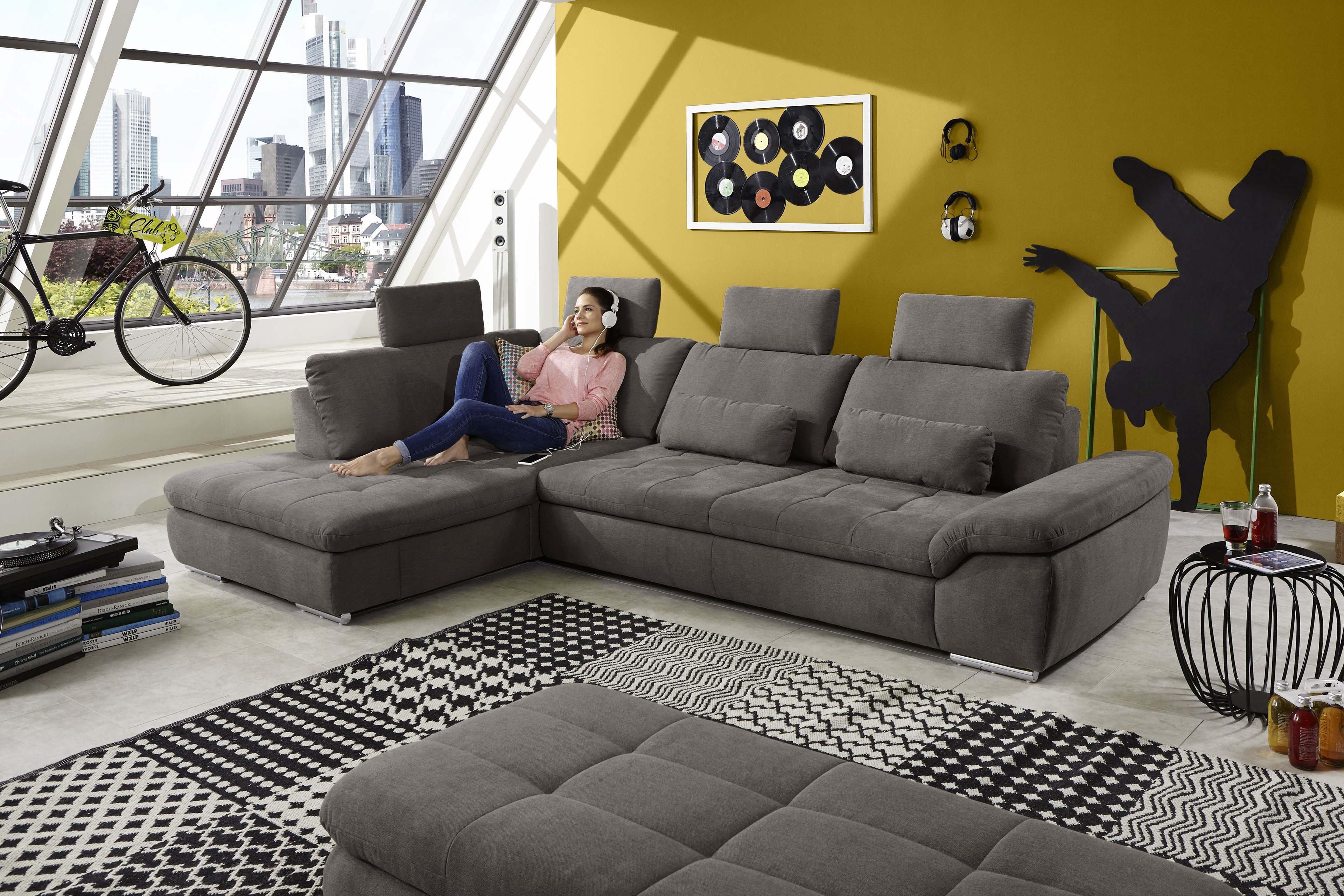 Megapol Crazy / Cross Sofa in Braun | Möbel Letz - Ihr Online-Shop