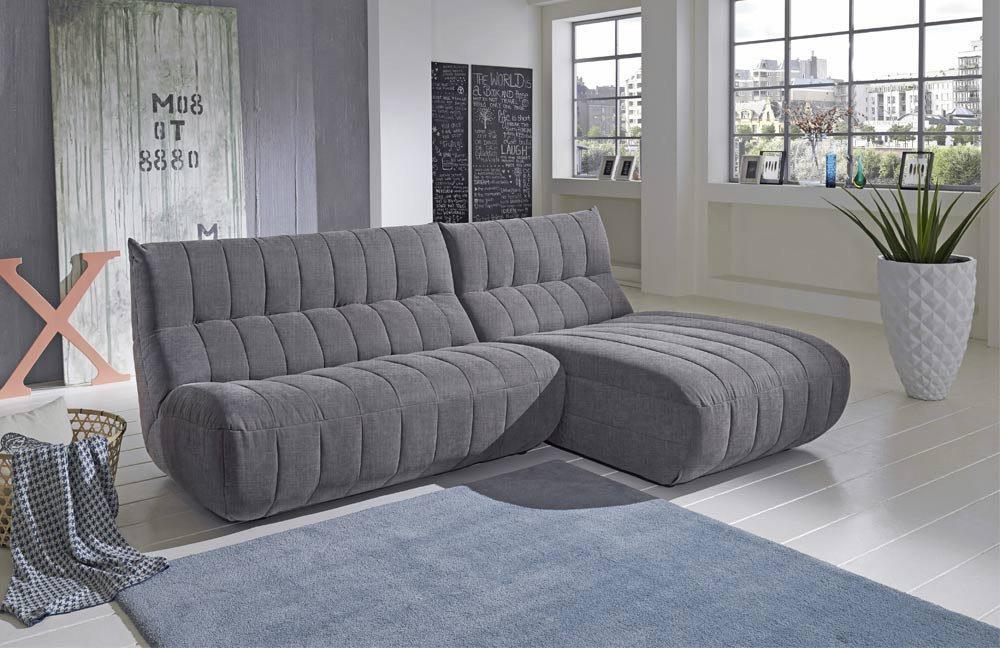 new look polsterm bel mirella ecksofa hellgrau m bel letz ihr online shop. Black Bedroom Furniture Sets. Home Design Ideas