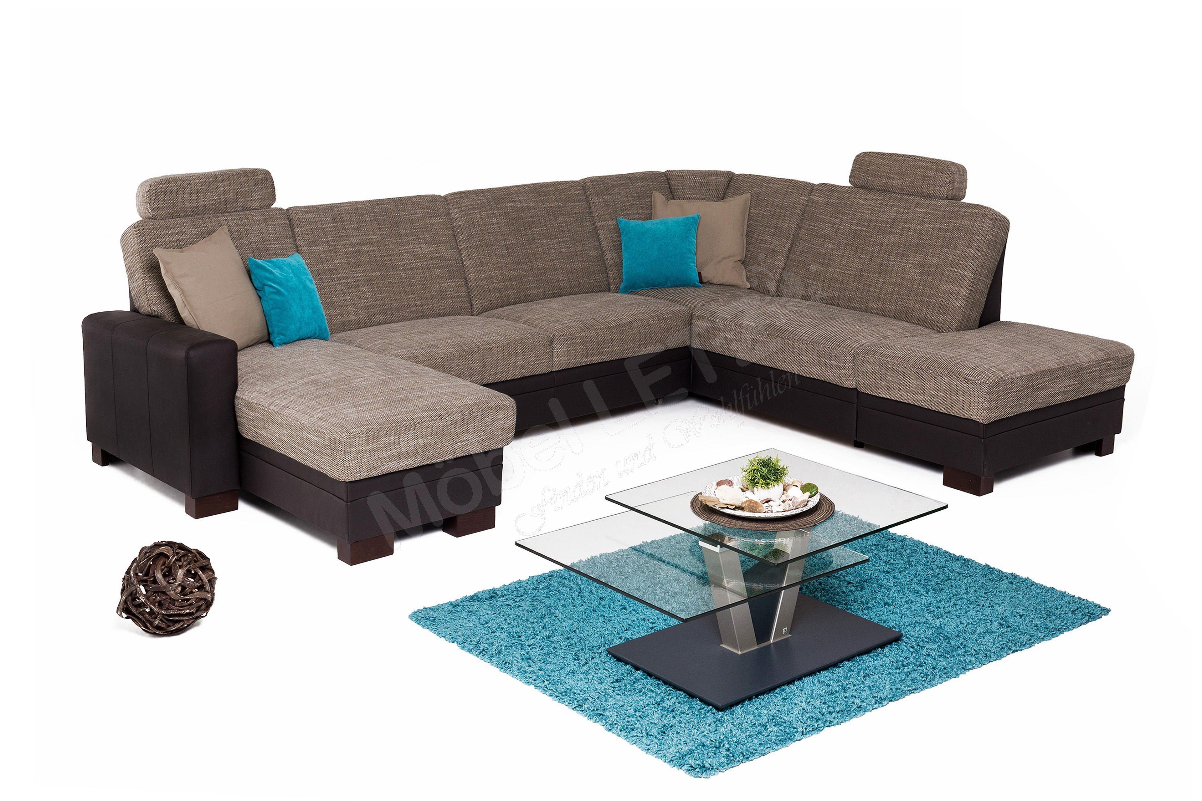 Zehdenick Cleveland Polsterecke braun | Möbel Letz - Ihr Online-Shop